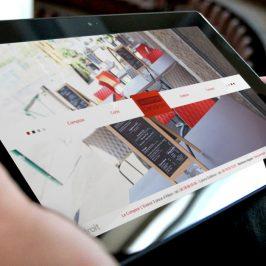 Création web : Le Comptoir L'endroit – Restaurant