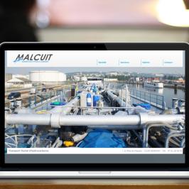 Création web : Malcuit – Transport Fluvial