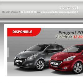 Création web : DMAuto – Spécialiste de la vente de véhicules