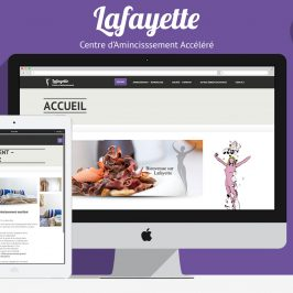 Création web : Centre d'Amincissement Accéléré Lafayette