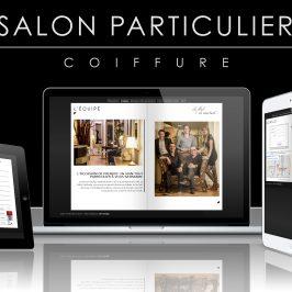 Création web : Salon Particulier 2014
