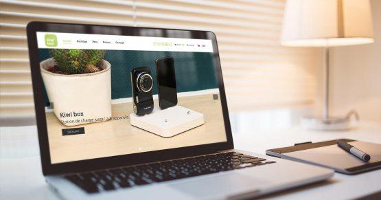 site e-commerce Kiwi Box