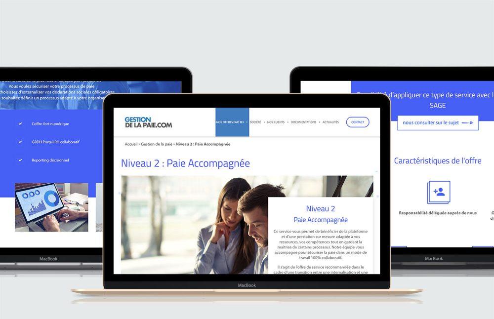 affichage bureau site gestion de la paie