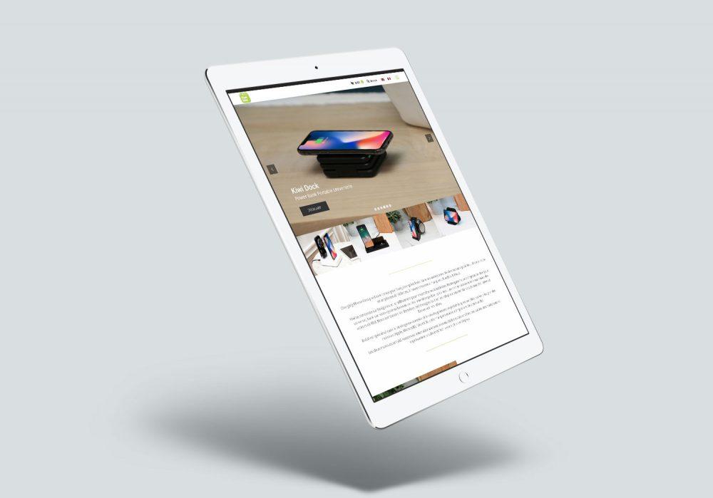 affichage tablette Kiwi Box
