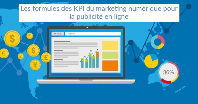 """illustration de l'article """"Les formules des KPI du marketing numérique pour la publicité en ligne"""""""
