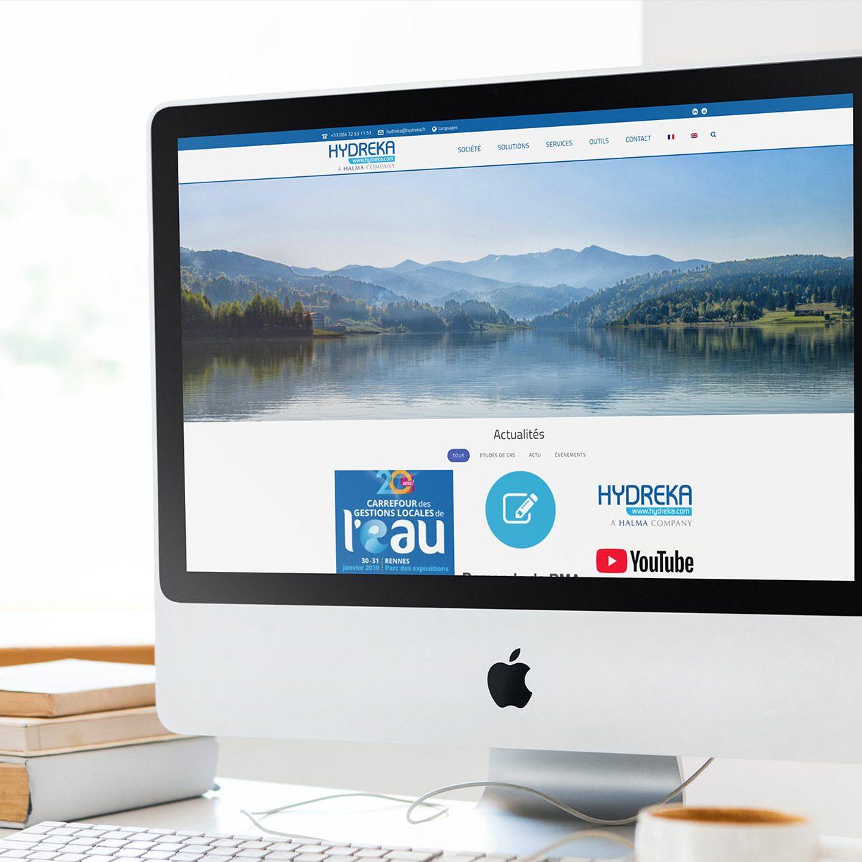 site web Hydreca